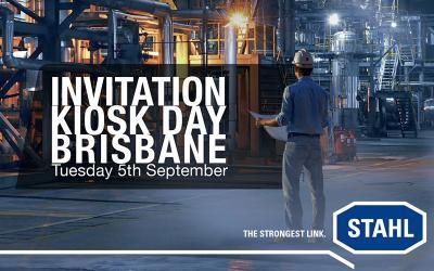 You're invited! R.STAHL KIOSK DAY in Brisbane