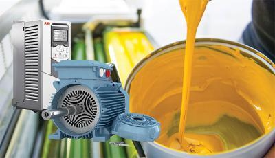 SynRM Motor for Paint Manufacturer
