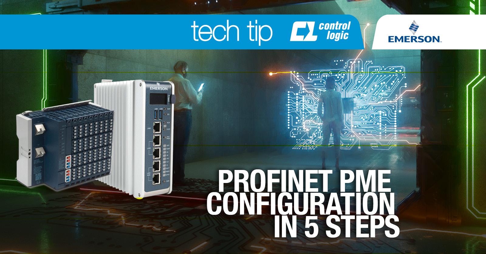 PROFINET PME configuration in 5 steps