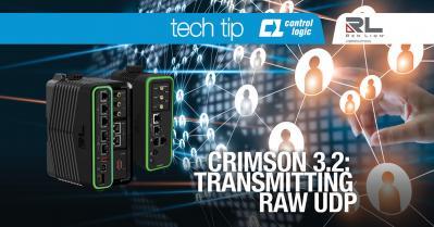 Crimson 3.2: Transmitting Raw UDP